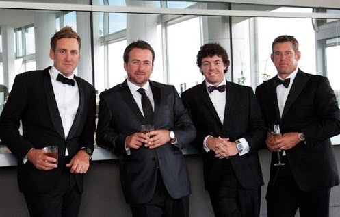 I love this image, it is similar to the Golf Digest Cover, and makes me think, James Bond and golf, in one shot.  Google+