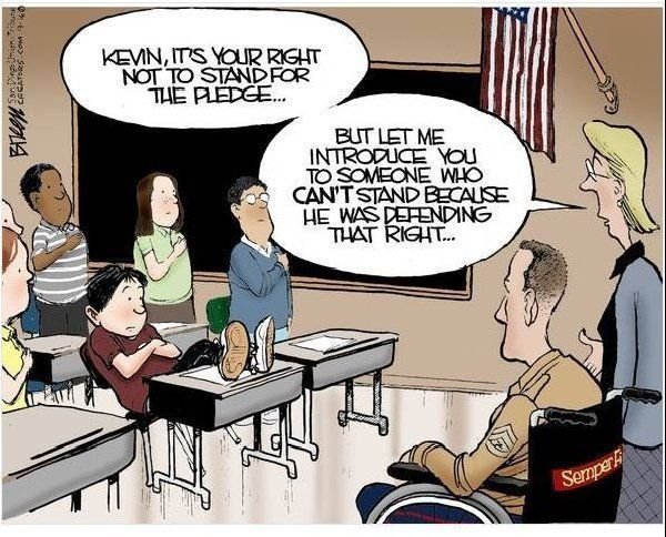 Powerful cartoon...: Quotes, Funny Pictures, Veterans Day, God Blessed, Semper Fi, Memories Day, United States, Kid, Country