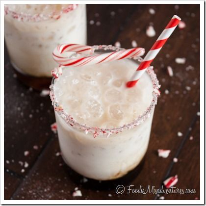 Peppermint White Russian - 12 Cocktial of Christmas