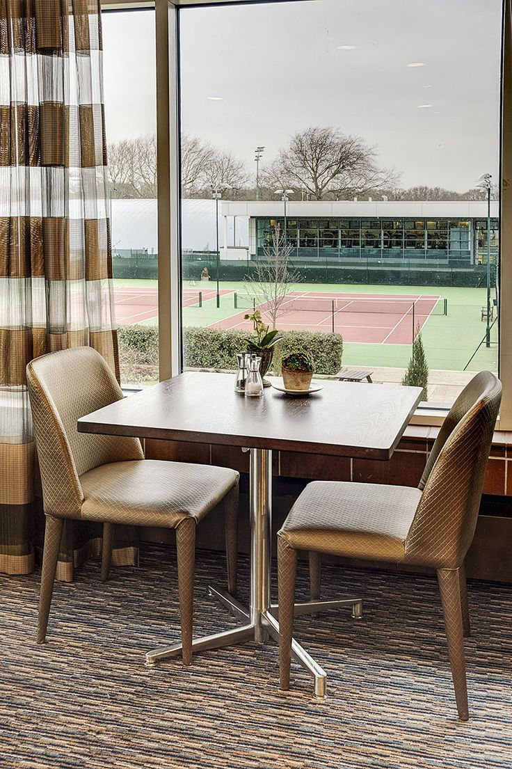 Distinction Contract manufactured furniture for the Private Members' Sports Club - Roehampton Club in London.