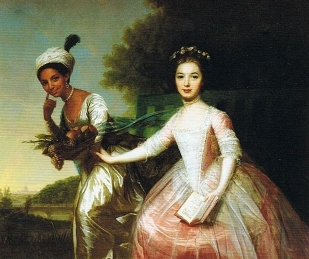 How black slave's daughter in mysterious 18th-century portrait was taken in by senior judge and 'opened his eyes' to the evils of slavery