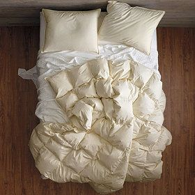meet the down comforter of your dreams down comforter encased in a shell of certified organic cotton