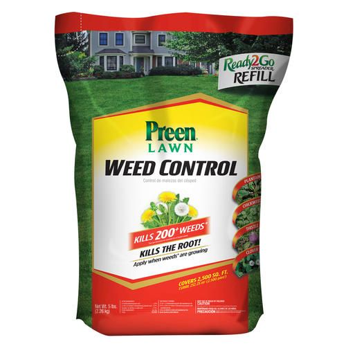 Scotts 15 lb. 5 M Turf Builder Weed and Feed-25006 - The Home Depot
