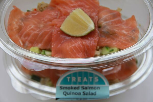 Who said salads are boring? Our Smoked Salmon Quinoa Salad will excite your senses! http://bit.ly/1JdlBOa