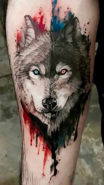 Un Significado De Tatuaje De Lobo Y 5 Conceptos Tatuajes En El