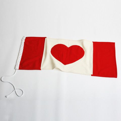 Heart Flag | Canada – 18 Waits http://18waits.com/collections/accoutrements/products/heart-flag-canada