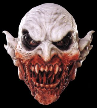 halloween masks and horror props