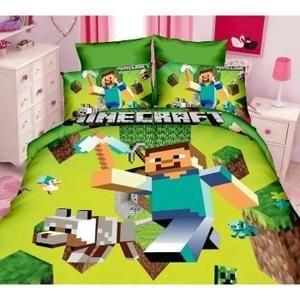 Parure de lit enfant Minecraft