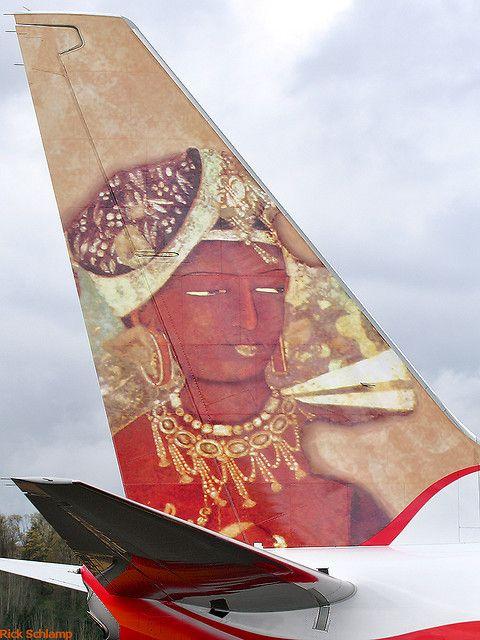 """Air-India Express VT-AYA """"Ajanta Cave Painting"""""""