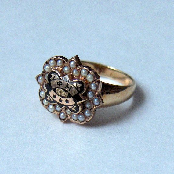 """Badge made into a ring.. Mine is the """"special edition"""" badge from Convention in Phoenix!"""
