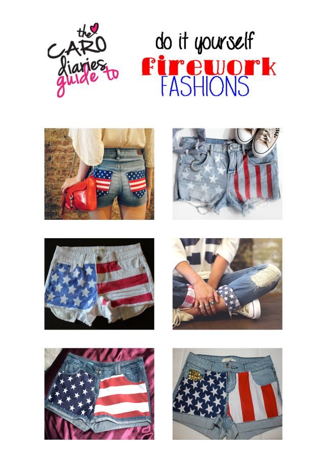 72 best shorts diy images on pinterest diy clothing diy shorts super easy diy american flag pants for fourth of july solutioingenieria Choice Image