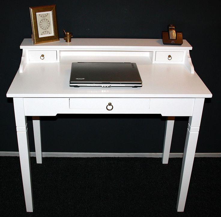 Schreibtisch Weiß Vintage