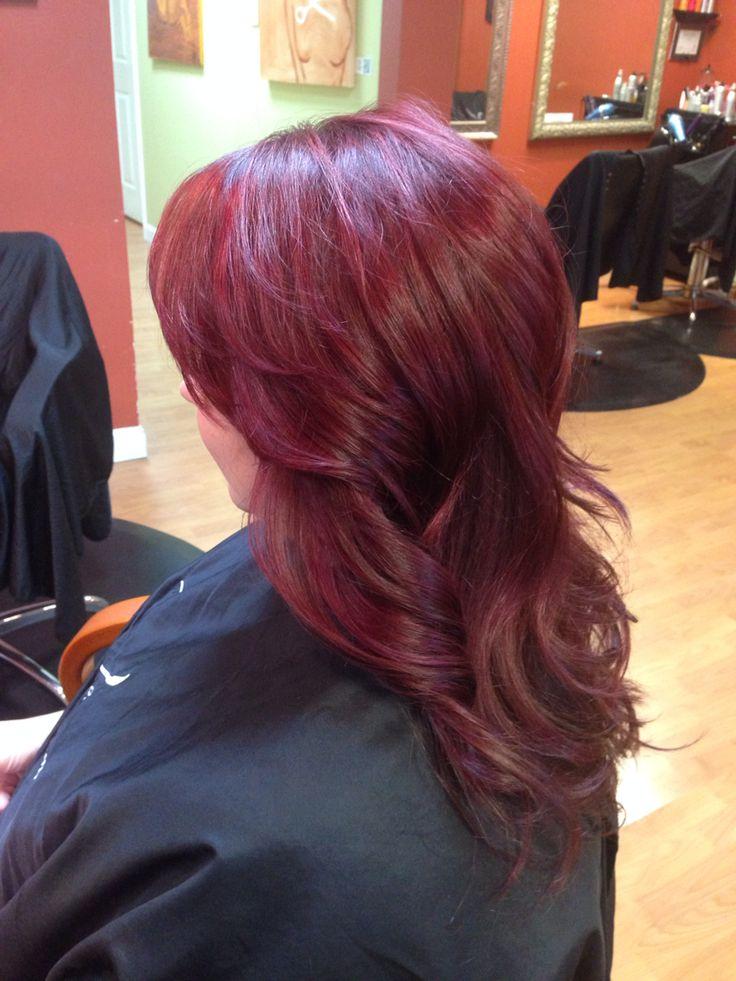 Cherry Cola Hair Schwarzkopf 5 88 5 99 5 5 Hair