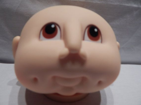 Cabbage Patch Type Baby Doll Head The Original Doll 1980 S