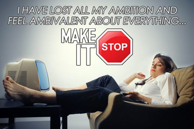 "Make It Stop: ""I've Lost All My Ambition"""