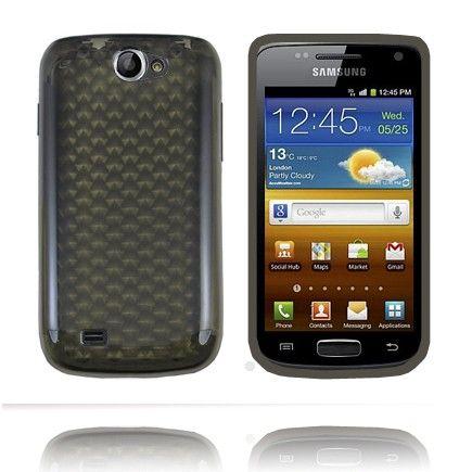 Kuutiot (Musta) Samsung Galaxy W Silikonisuojus