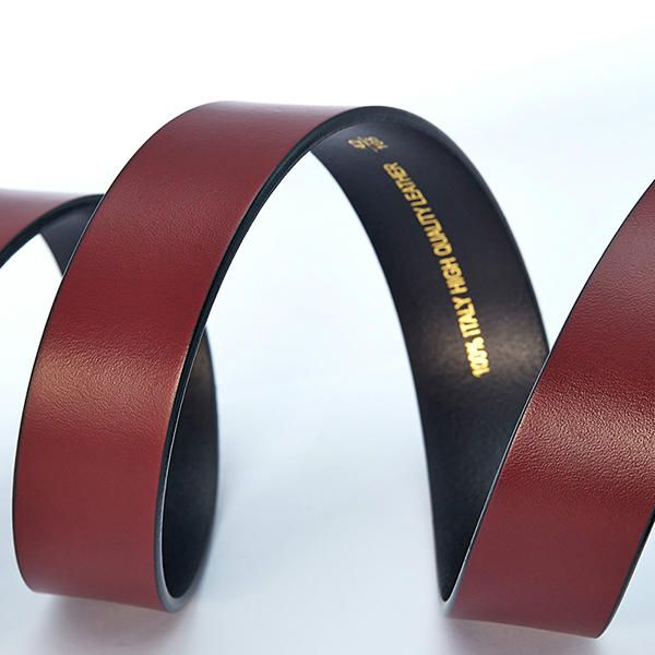 125CM Men Business Genuine Leather Belt Fashion Durable Copper Buckle Waistband at Banggood