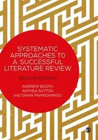 http://www.adlibris.com/se/organisationer/product.aspx?isbn=1473912466 | Titel: Systematic Approaches to a Successful Literature Review - Författare: Andrew Booth, Anthea Sutton, Diana Papaioannou - ISBN: 1473912466 - Pris: 311 kr