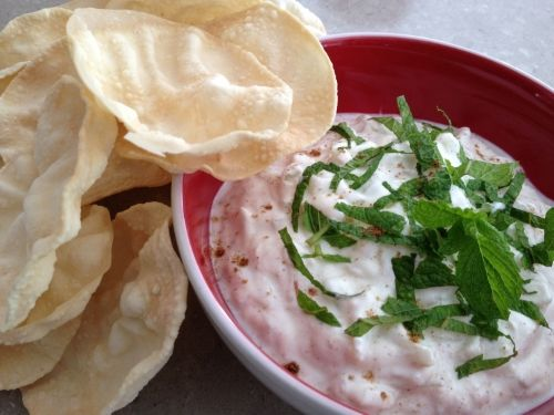 Try our Apple Cucumber Raita - fresh and perfect for cooling down after a hot Indian curry.  Simple, healthy and quick.  Recipe kidsveges.com