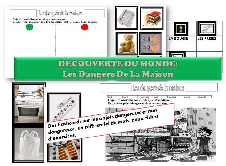 MATERNELLE-MS GS-DECOUVERTE DU MONDE-les dangers domestiques - laclassedelena