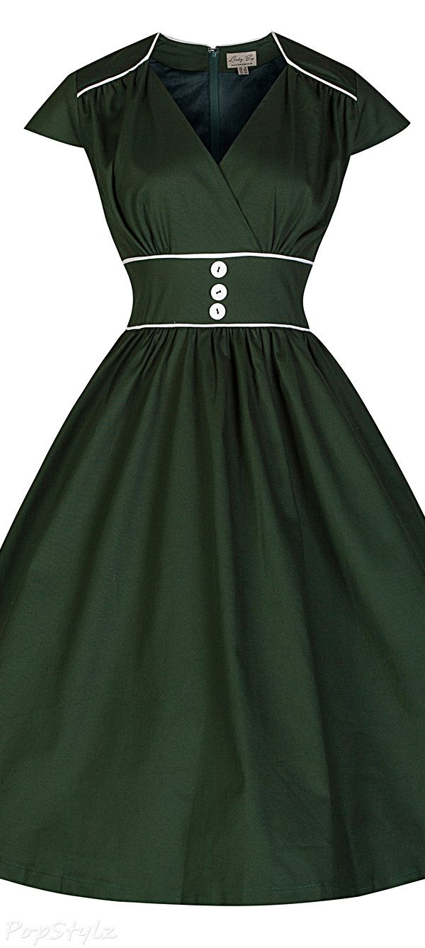 Lindy Bop 'Polly' Cute Vintage 50's Retro Swing Dress