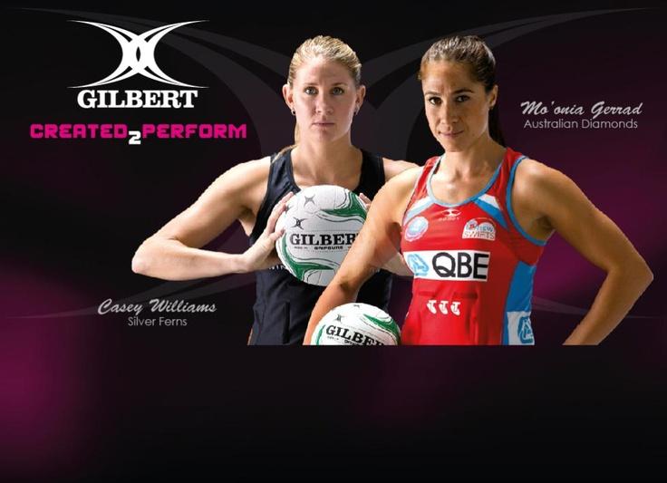 Gilbert & Netball = an ideal combination