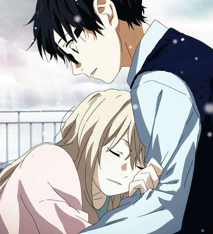 Kousei and Kaori Shigatsu Wa Kimi no Uso | Japan • Anime • Manga | Pinterest | Your lie in april, You lied and Anime