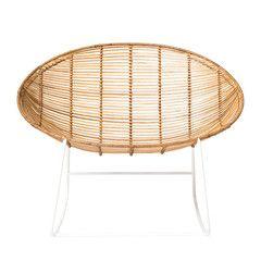 כסא נדנדה Orinoco ראטן טבעי