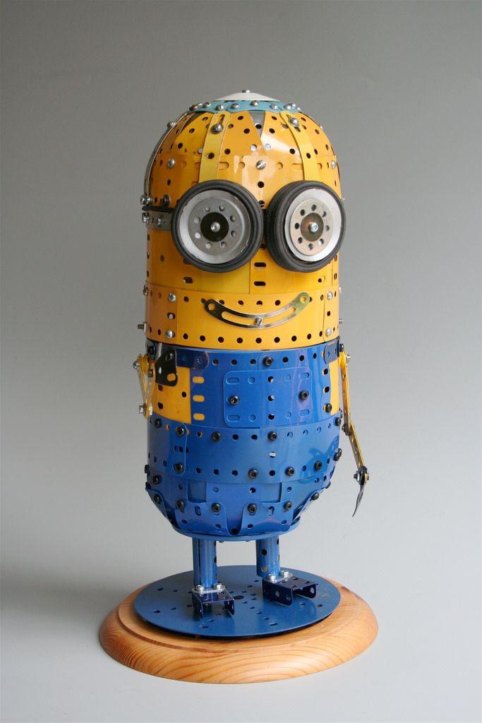 A Meccano Minion , by Philip Webb