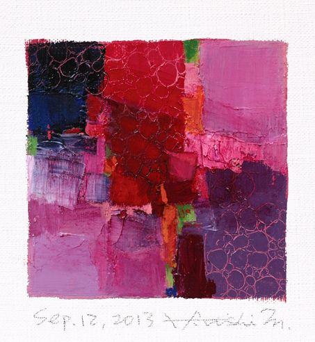 sep122013 by Hiroshi Matsumoto #colorful #abstract #art