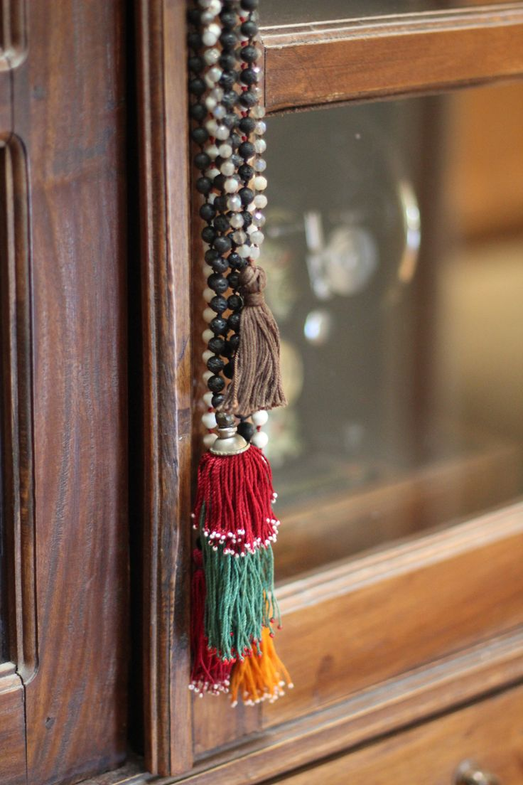 Tutorial how to make your own mala prayer necklace