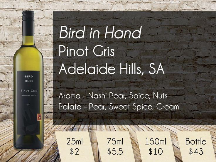 Bird in Hand Pinot Gris