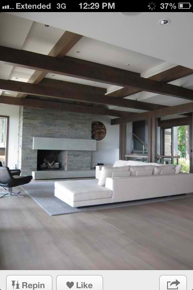 Great Asymmetrical Design Fireplace Fantastic