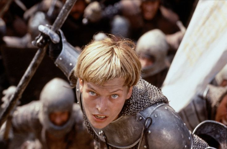 """Joan Of Arc """"Milla Jovovich"""" The Messenger: The Story Of Joan Of Arc (1999)"""