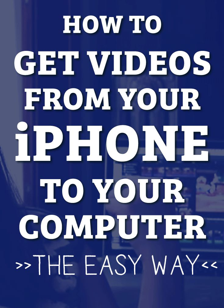 how to send gopro videos from computer to iphone