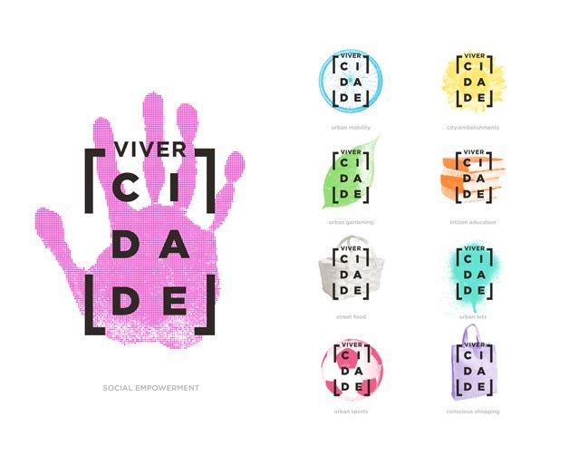 """Sixth Annual Logo Design Competition Winners Designer: Fábio Issao (São Paulo, Brazil) """"ViverCidade"""""""