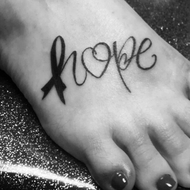 25 best ideas about hope tattoos on pinterest faith for Faith cancer tattoos