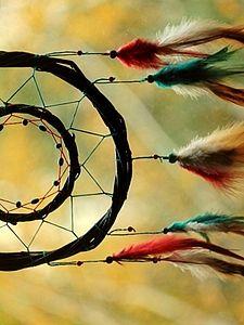 tutorial Изготовление Индейского Ловца Снов | Ярмарка Мастеров - ручная работа, handmade