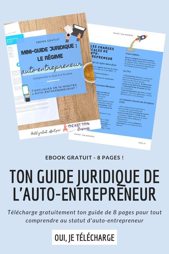 Entrepreneur Ou Futur Entrepreneur Ton Guide Juridique Gratuit Te Permettra De Decouvrir Le Regime De L Auto E Micro Entreprise Entrepreneur