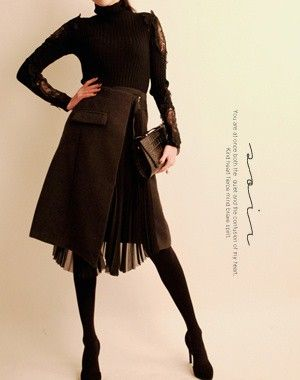 SOIR+skirt+14141