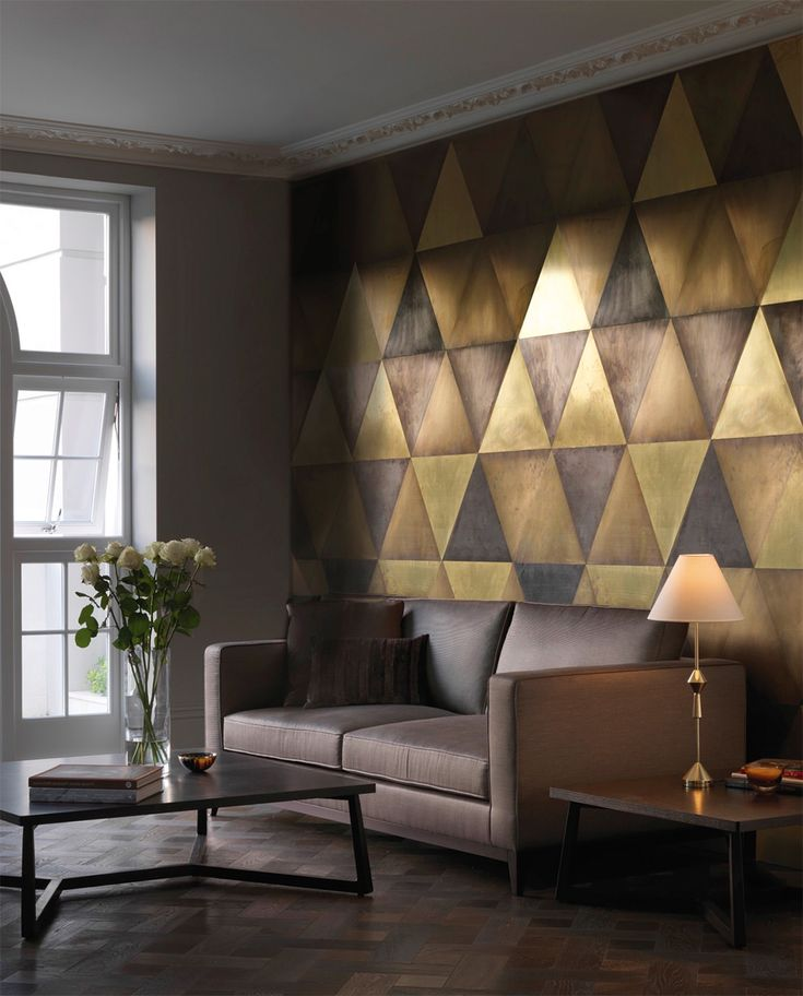 Distinctive Wall Coverings Styles to Steal Geometric