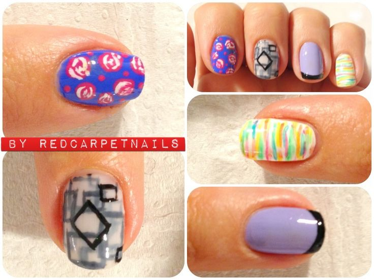 #ontrendnails #fashion #summer #fun #catwalk #fashionphotography some designs that Manicurism has done for clients this week. Book now