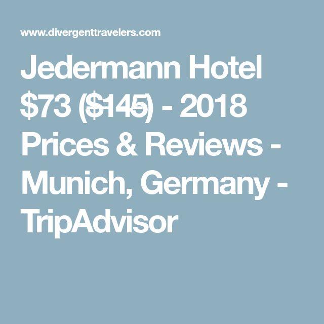 Jedermann Hotel $73 ($̶1̶4̶5̶) - 2018 Prices & Reviews - Munich, Germany - TripAdvisor