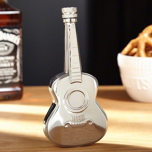 Tremolo Acoustic Guitar Flask - $12