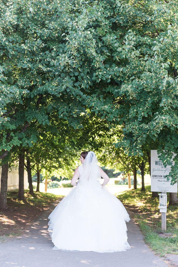 Blush PEI wedding photos, Gardens of Hope wedding ceremony