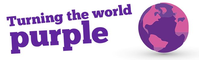 Turning the world purple for Cavell