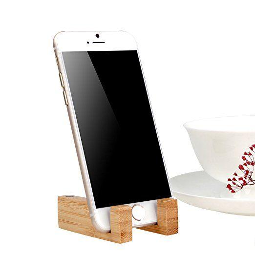 Dodocool Bamboo Ständer Handy Ständer Smartphone Ständer