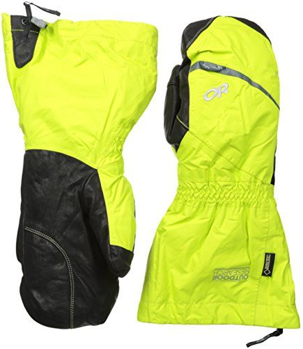 Climbing-Outdoor Research Men's Alti Mitts, Lemongrass, Small -- Check out this great product.