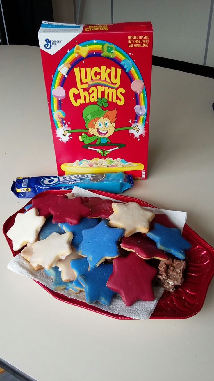 Our American themed food day to help a boy called Leon who has Eisenmenger Syndrome go to America - his lifelong dream.