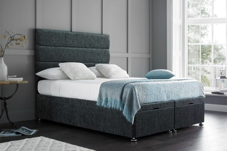 Katie Ottoman Bed available online with Beds on Legs